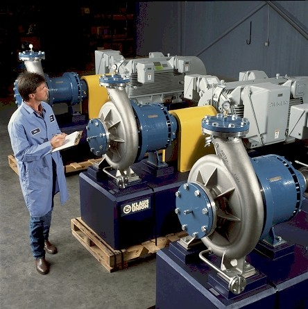 KU Worker with 400 HP Magnetic Drive Pump